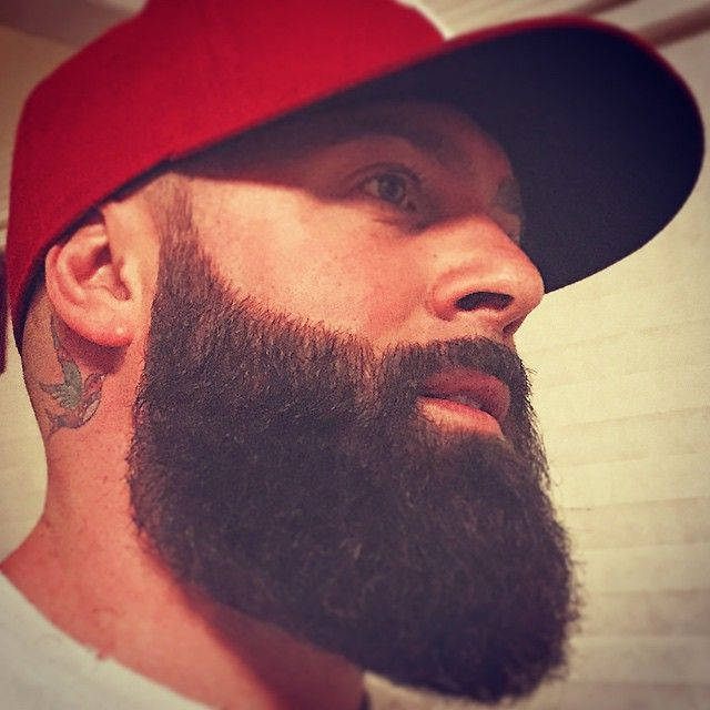Awesome beard symmetry
