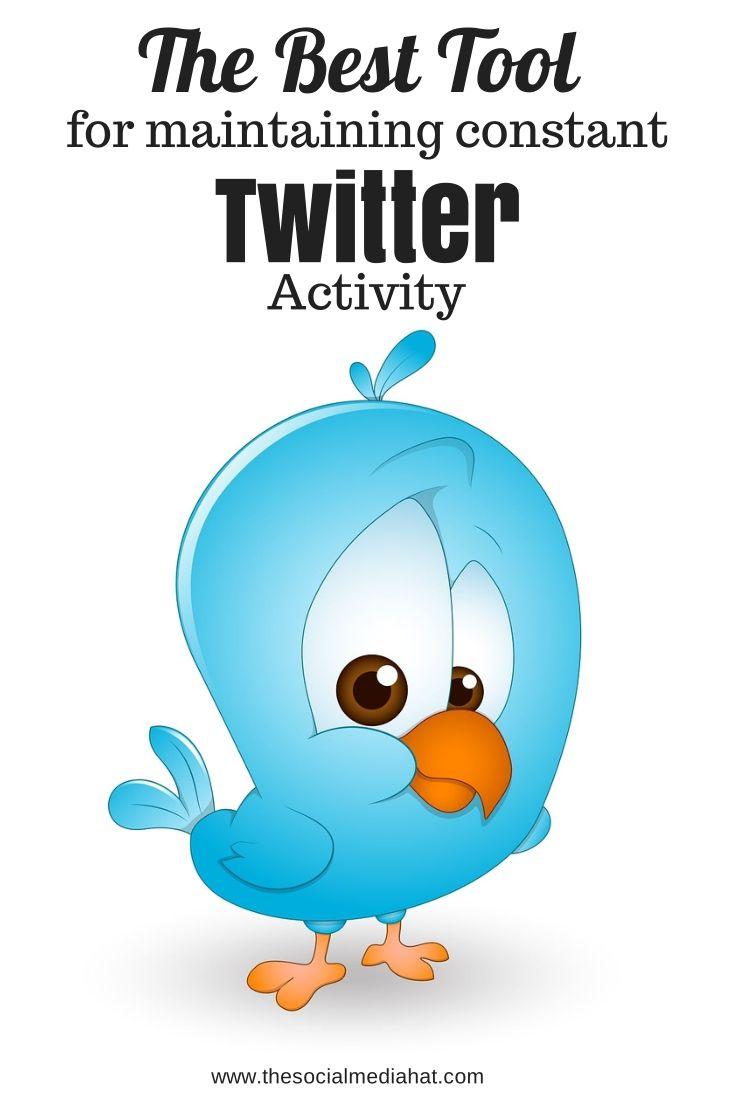 The Best Tool for Maintaining Constant Twitter Activity | #Twitter #SocialMedia #SocialMediaManagement