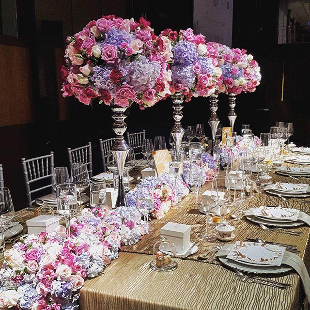 Enchanting Table Set Ups For Your Wedding Inspiration At ShangriLa Hotel Singapore