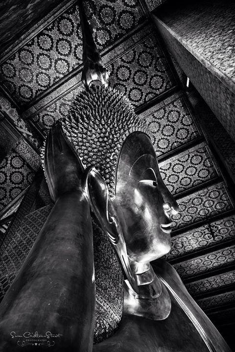 Reclining Buddha ~ Wat Pho, Bangkok.  Susan Crichton-Stuart