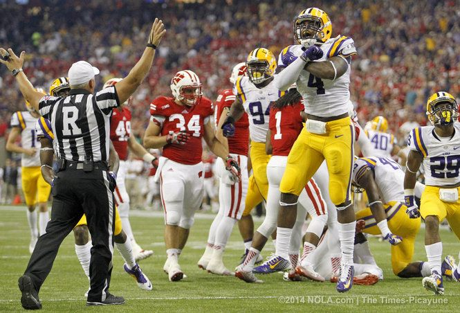 Kwon Alexander : LSU vs Wisconsin   ~ Check this out too ~ RollTideWarEagle.com sports stories that inform and entertain and Train Deck to learn the rules of the game you love. #Collegefootball Let us know what you think. #LSUFootball