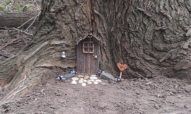399 best images about garden gnomes fairy doors on for Fairy doors for trees