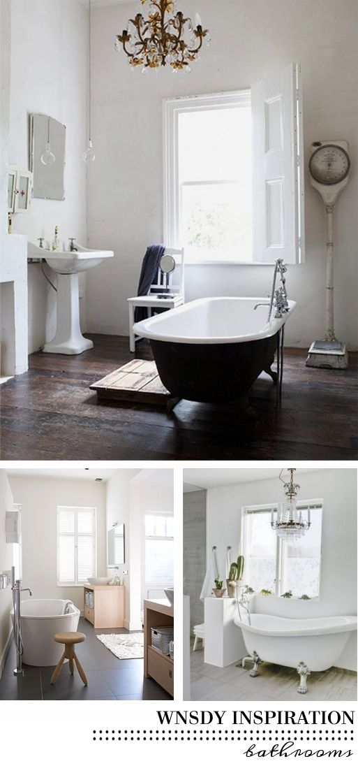 want a stand alone tub