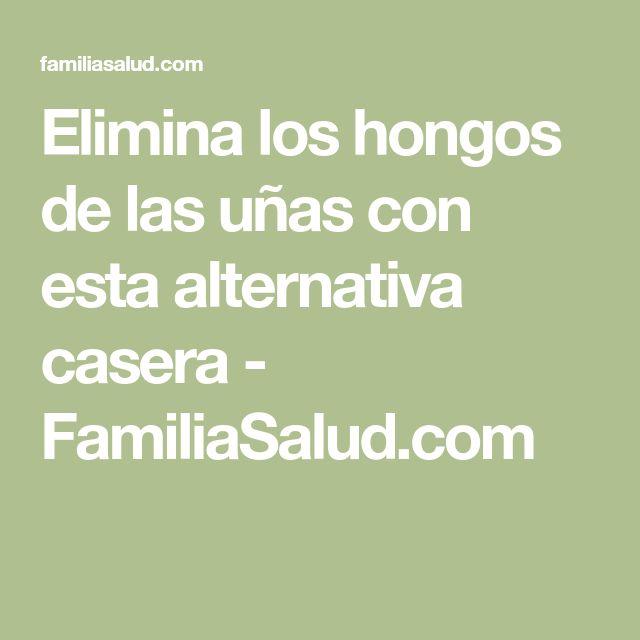 Elimina los hongos de las uñas con esta alternativa casera - FamiliaSalud.com