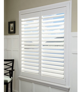 Hunter Douglas Palm Beach Shutters are maintenance free, nontoxic, eco-friendly, and deter mold and mildew even in humid climates.