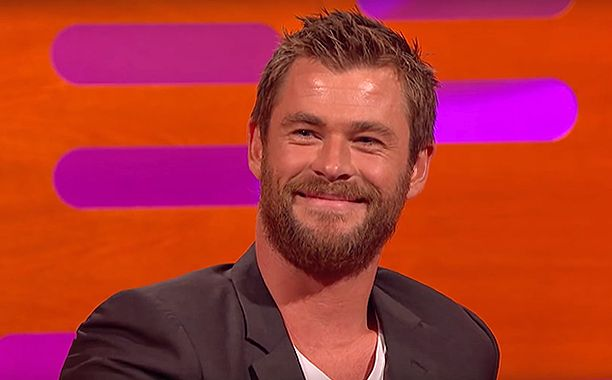 When you've played Thor in four (going on five) Marvel movies, you've heard just about every Thor joke there is. So, when Chris Hemsworth went on The Graham Norton Show, he had a good one in his back pocket.