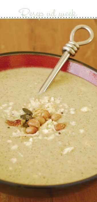 Broccoli and cheese soup #recipe | Broccoli-en-kaas-sop resep #vegetarian