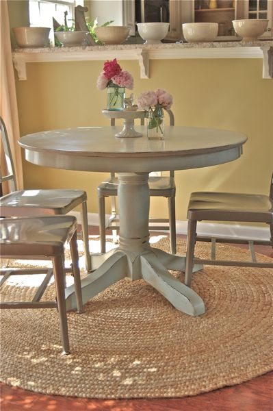 Vintage Junky   Creating Character For A Small Space. Find This Pin And  More On ::: Round Table Round Rug ...