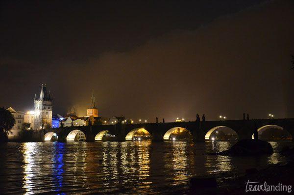 puente san carlo. Praga en dos días