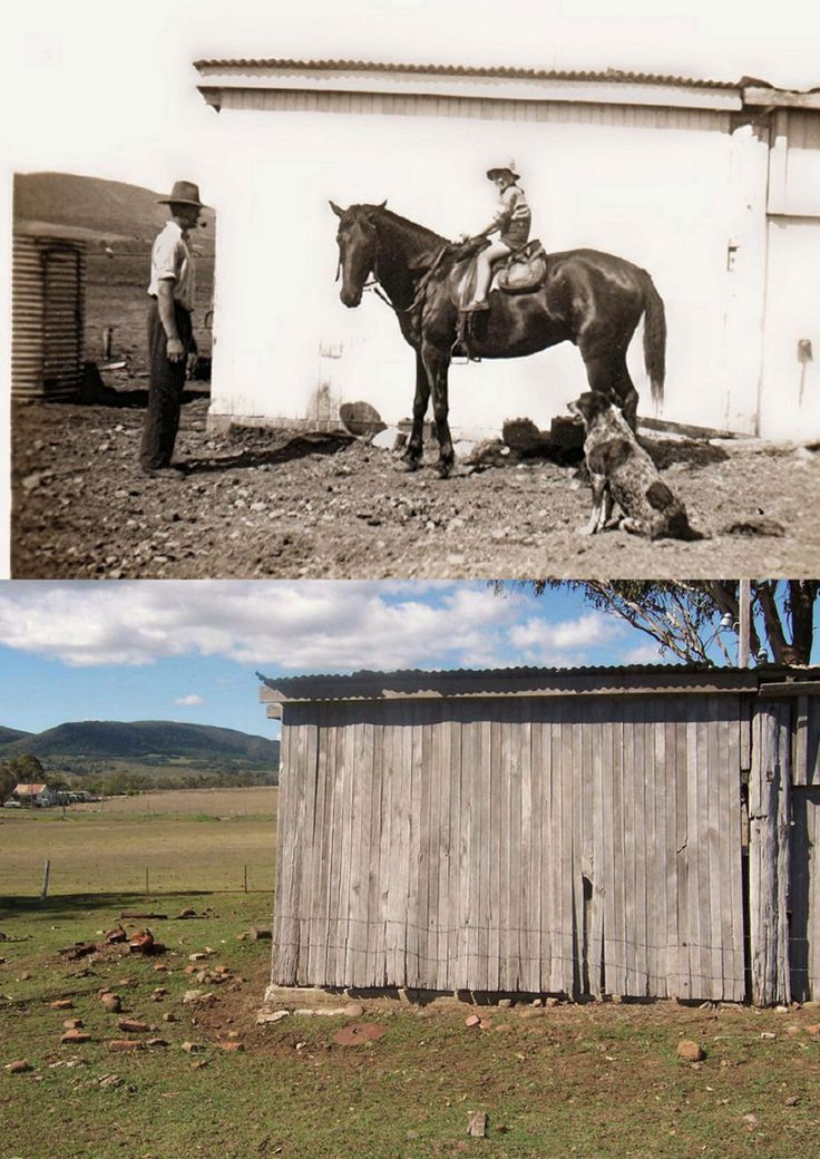 Tannymorel Qld The Dairy 1947 & 2006