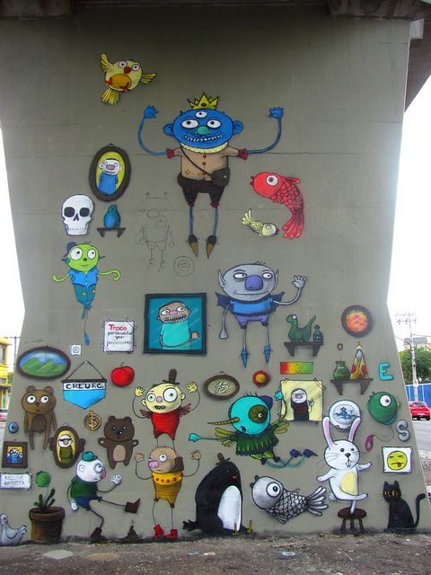 Open Museum of Urban Art ~ São Paulo, Brazil