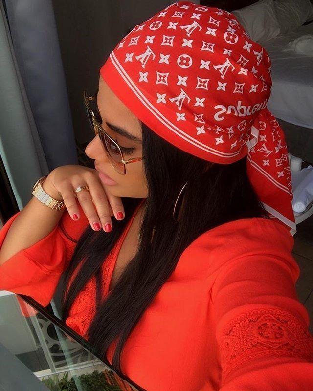 Gillianvidegar Louis Vuitton Bandana Red How To Wear Outfit