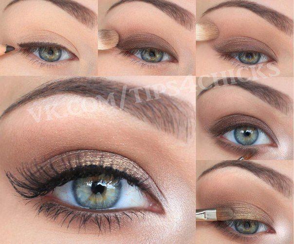 Макияж для серых и голубых глаз | 141 фотография | ВКонтакте