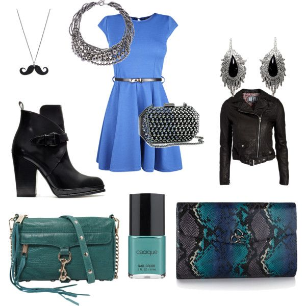 """Blue Dress"" by agrigento33 on Polyvore"