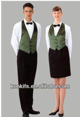 High end Hotel / hotel staff uniform / Restaurant Staff Uniform $12.8~$18.9