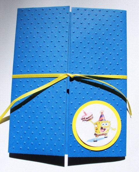 73 best spongebob first birthday images on pinterest spongebob spongebob invitation kits by leonscreativememorie on etsy 110 solutioingenieria Gallery