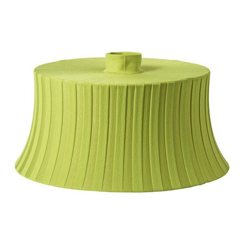 IKEA - ÄMTEVIK, Lamp shade, Create your own personalized pendant or floor lamp by combining the lamp shade with your choice of cord set or lamp base.Easy to clean; the shade fabric is removable and machine washable.You can create a soft, cozy atmosphere in your home with a textile shade that spreads a diffused and decorative light.