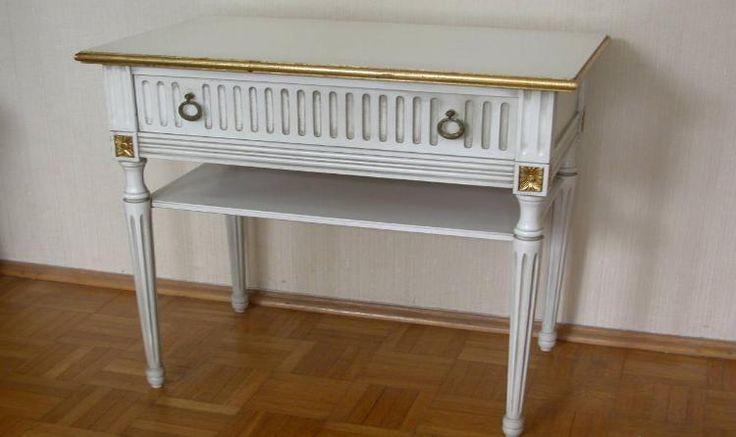 Tischchen/Beistelltisch, Ludwig der 16.-Stil #01