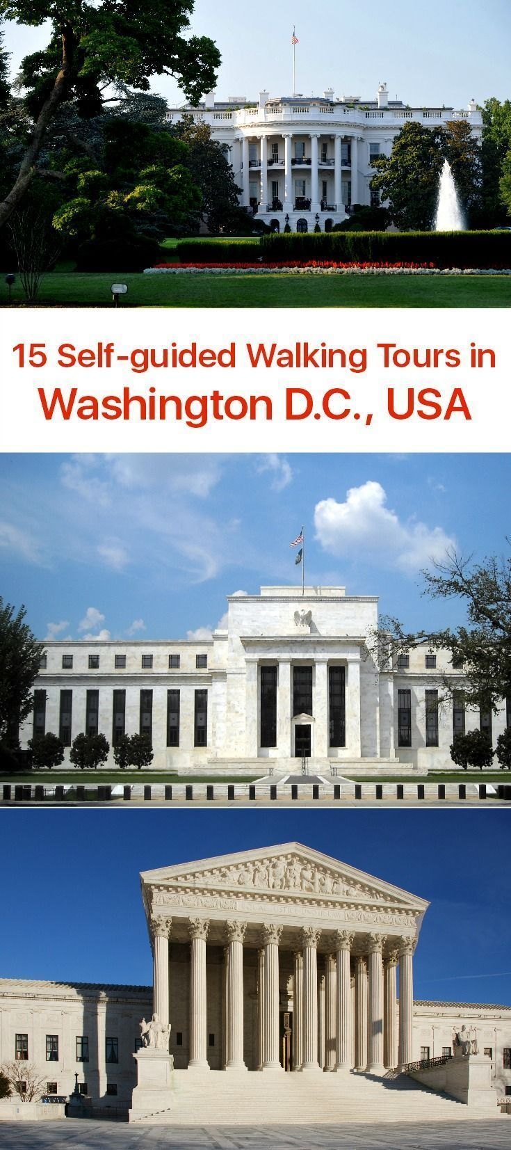 The seat of the U.S. Federal government, Washington D.C. sits on the Potomac River, sandwiched between Maryland and Virginia states. Sites like the U.S. Capitol, White House, Lincoln Memorial, and the Washington Monument put the city among the top-visited places in the United States.