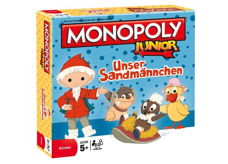 Monopoly Junior Unser Sandmännchen #Monopoly #Junior #Sandmännchen #Traumland