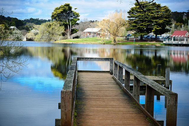Lake Daylesford, Victoria, Australia by Sonia U, via Flickr