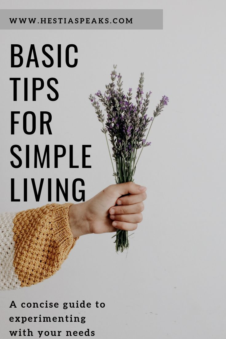 Simple living, slow living, and minimalism are all…