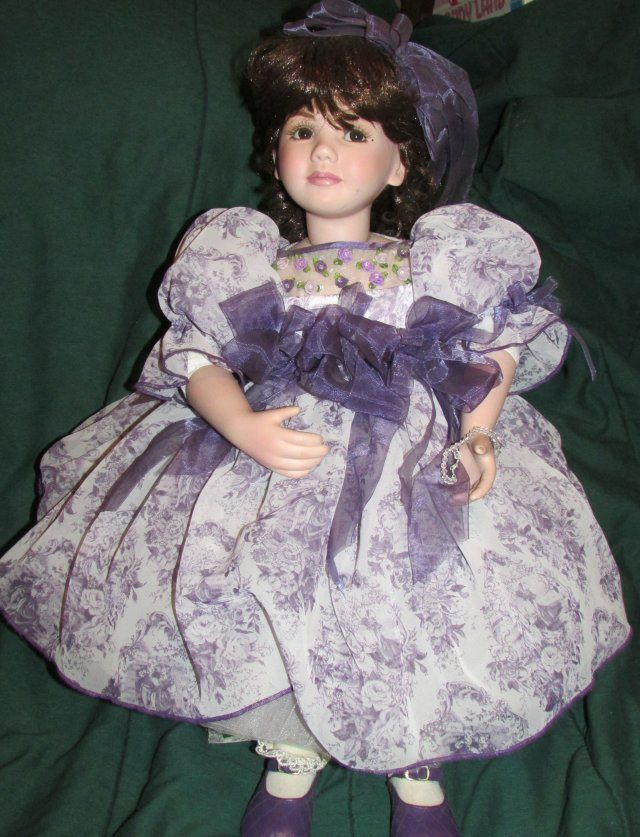 "Marie Osmond Dolls for Sale | ... 24"" MARIE OSMOND COMING UP ROSES PORCELAIN 12TH DOLL LIM ED PAPERWORK"