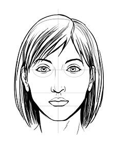 How to draw a face tutorial