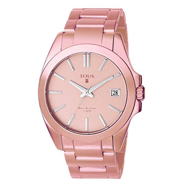 Montre en aluminium. Collection Drive. 285 $  @TOUS Jewelry Aluminium Watch. Drive Collection