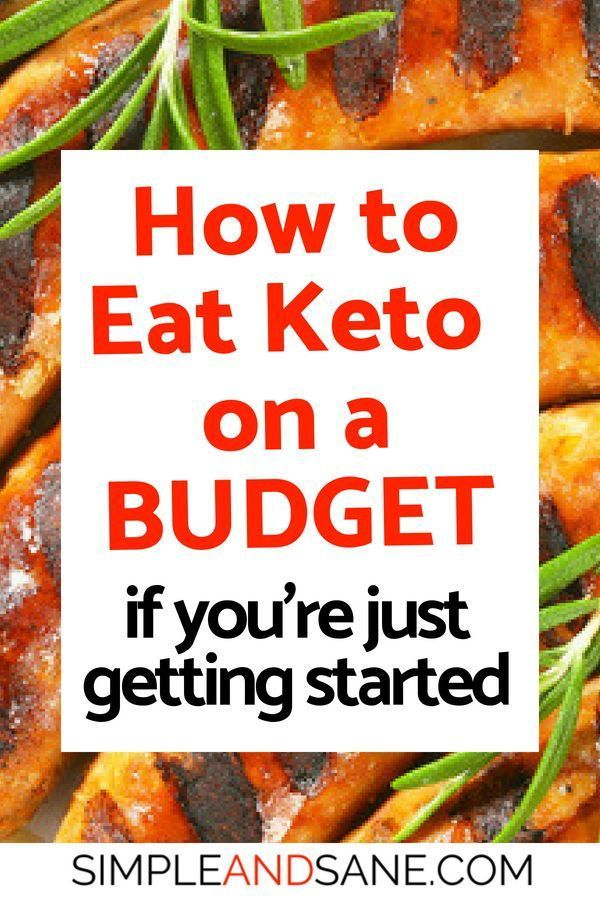 Keto On A Budget Simple And Sane - %