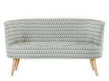 Lulu 2 Seater Sofa, Drop Weave