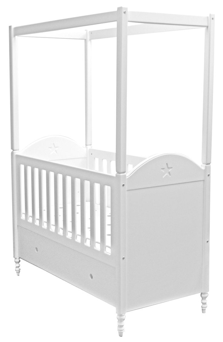 4 Poster Provence cot. Add the cot curtains and it looks absolutely dreamy.