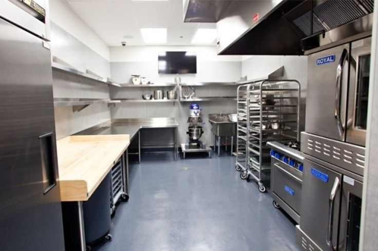 48 Best Commercial Kitchen Images On Pinterest Industrial Kitchens Cool Restaurant Kitchen Design Ideas Painting