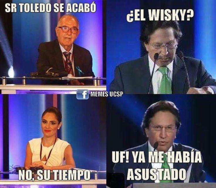 Debate presidencial - Toledo
