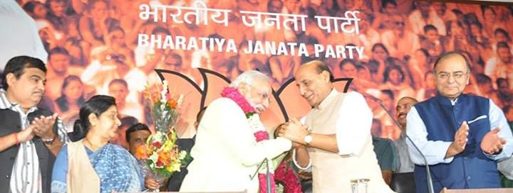 Declared as PM candidate of BJP
