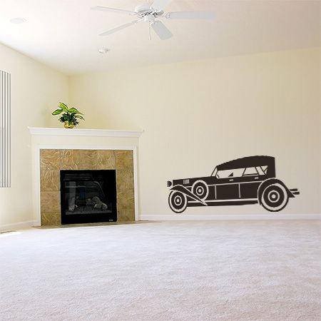 Vintage αυτοκίνητο απο τα 30s.  Φοβερό desing για το γραφείο, το καθιστικό ή το σαλόνι. Μπορεί να διακοσμήσει ακόμα και παιδικά δωμάτια αφού τα παιδιά ξετρελαίνονται με τα αυτοκίνητα.
