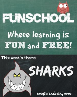 Free lesson plans, websites, and printables for learning about Sharks - get ready for Shark Week!