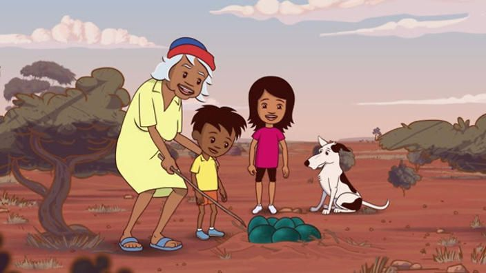In an Australian first, television show Little J & Big Cuz targets a young Indigenous audience and offers an insight into traditional Aboriginal culture, country and language.