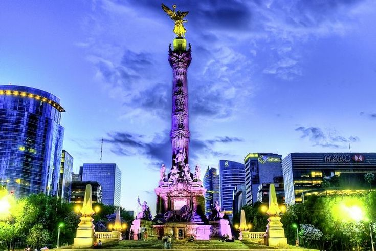 Ángel de la Independencia - Explorando Mexico