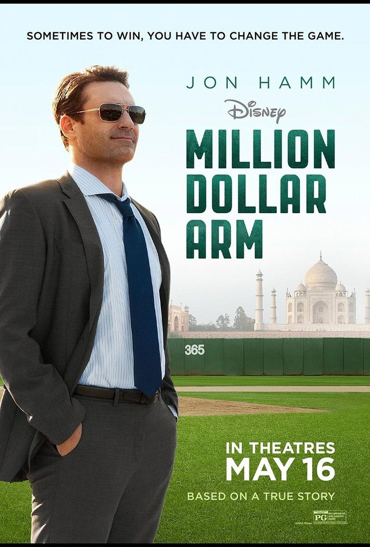Critics Consensus: Pleasant to a fault, Million Dollar Arm is a middle-of-the-plate pitch that coasts on Jon Hamm's considerable charm without adding any truly original curves to Disney's inspirational sports formula.
