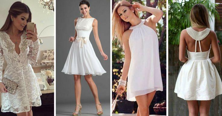 Ideias Lindas para Usar Vestidos Brancos de Festa - http://webfeminina.com/ideias-lindas-para-usar-vestidos-brancos-de-festa/