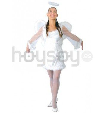 #Disfraz de #ángel celestial perfecto para #Navidad #Disfraces