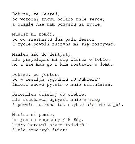 somanydesires:  by Jarosław Borszewicz. ten wiersz to jeden piękny cytat