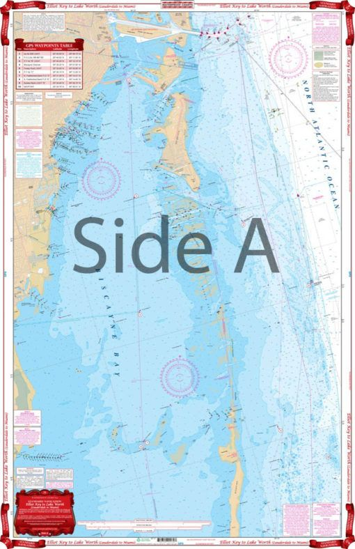 Florida Intracoastal Waterway Map.Complete Intracoastal Waterways Coverage And Detail From Lake Worth