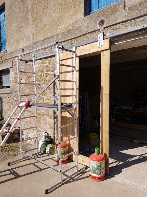 Fabriquer Une Porte De Grange Coulissante Portes De Grange Coulissantes Porte Grange Construire Abri Bois