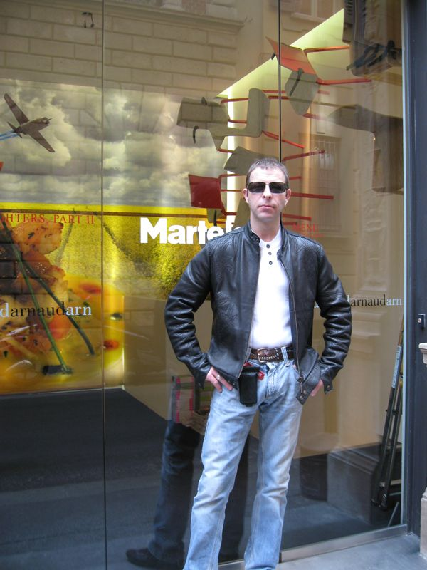 Stefan Lindfors in Milan Design Week 2007
