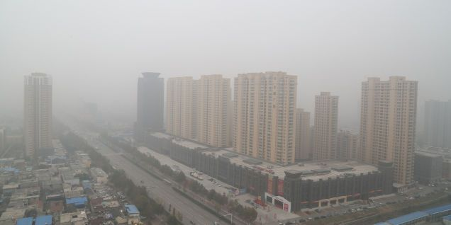 """Even China's State News Agency Thinks the Pollution """"Doomsday"""" Has Arrived"""