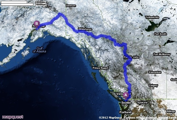 Driving Directions from Bellingham, Washington to Anchorage, Alaska   MapQuest