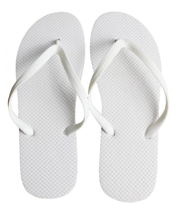 Women S White Wedding Flip Flops En 2020 Boda