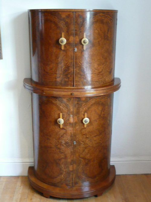 Best Of Art Deco Liquor Cabinet